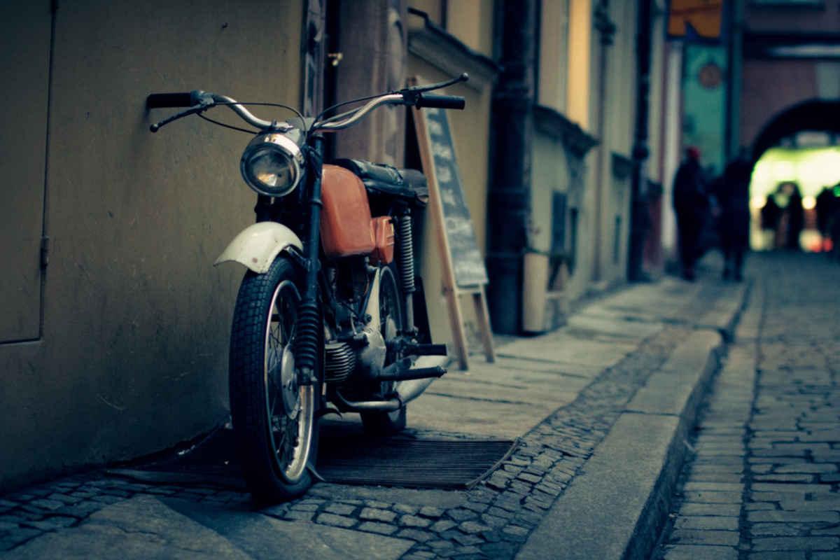 Vintage Motorbike Photography