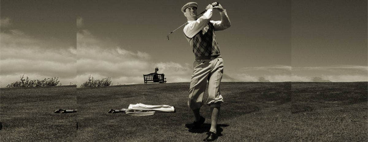vintage golf outdoor photography
