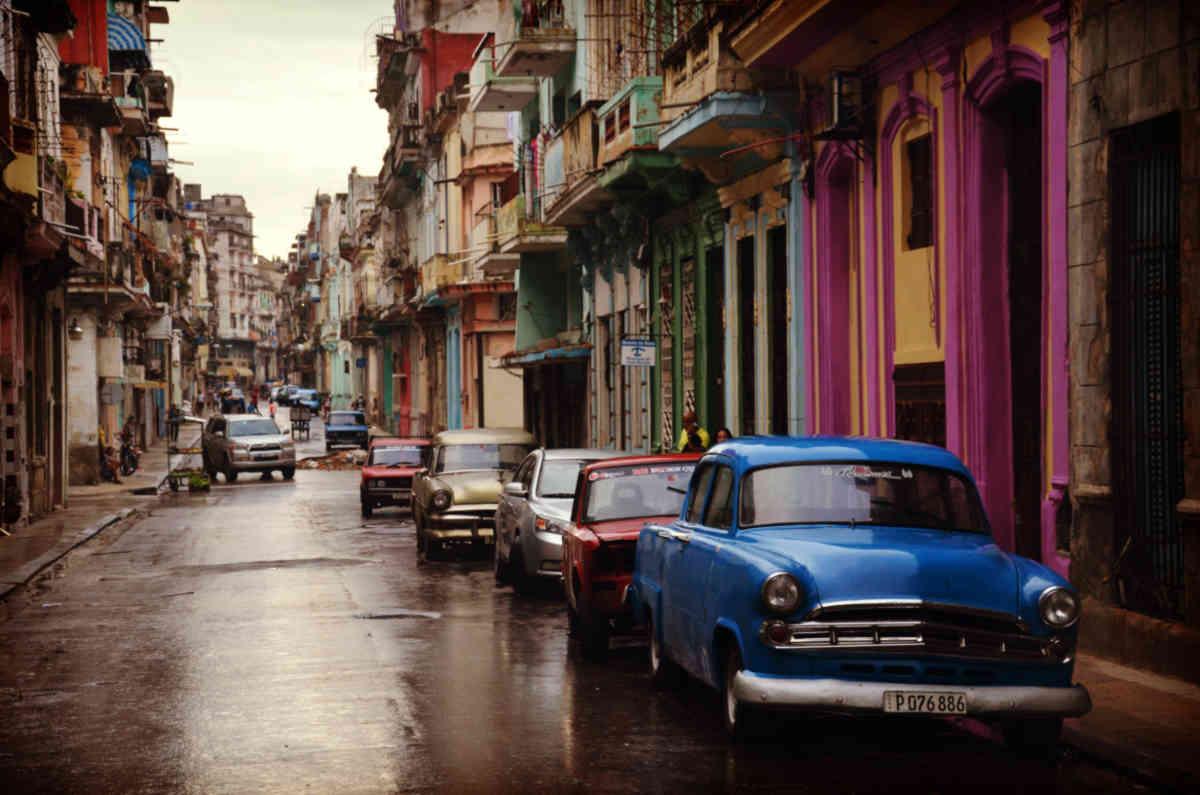 Vintage Cityscape Photography