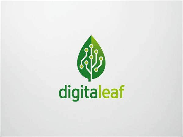 Digital Leaf Logo