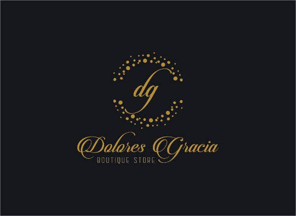 boutique store logo template