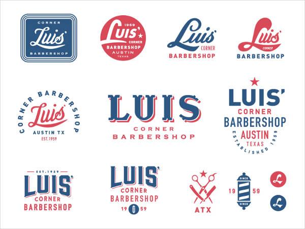 Corner Barbershop Logo