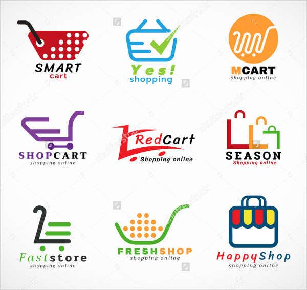 10 beautiful store logos free premium templates for Design on line outlet