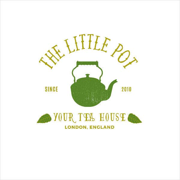 Tea Store Logo Template