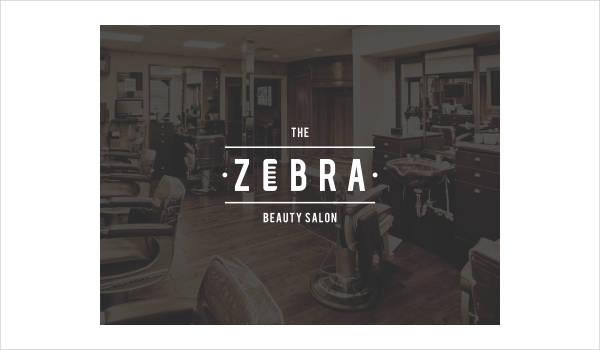 Zebra Store Logo Template