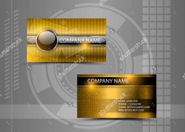 abstract creative business card1