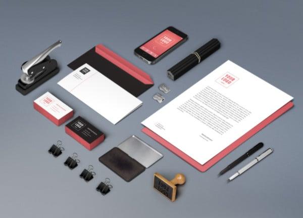 Showcase Branding Identity Mockup