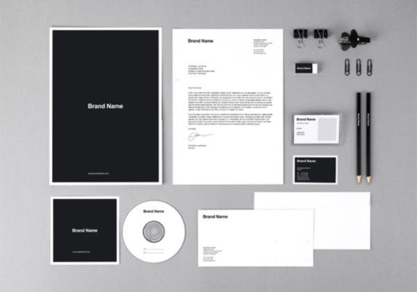 Branding Identity Mock-Up Template