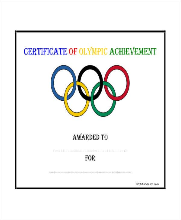 Certificate Of Achievement Template 9 Free Word Pdf Psd Format