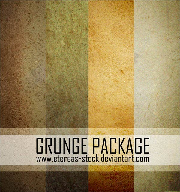 grunge texture package