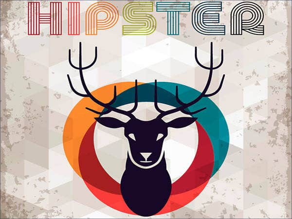 Hipster Logo Artwork