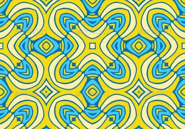 abstract seamless floor tiles pattern