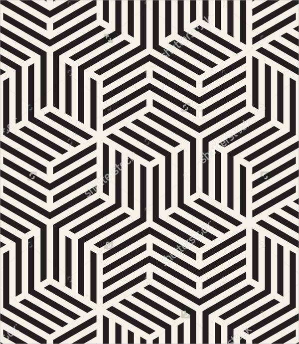 Modern Abstract Geometric Pattern