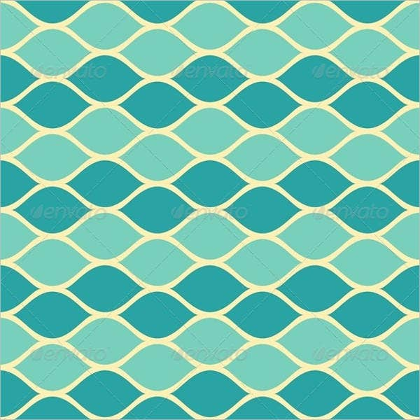 seamless blue abstract pattern