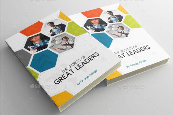 Simple Book Cover Template : Beautiful book cover templates free sample example
