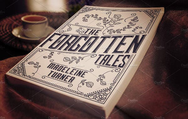 customizable book cover template