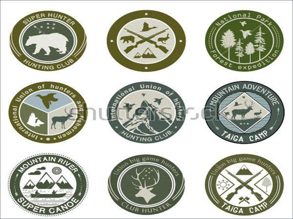 hunting-club-fishing-logo
