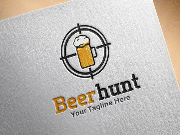 beer-hunt-logo-template