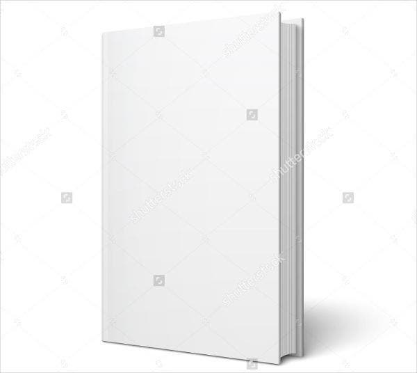 blank vertical book cover template1
