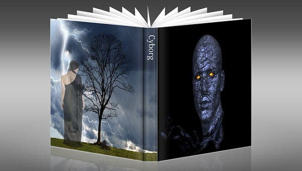 31 Beautiful Book Cover Templates Free Sample Example