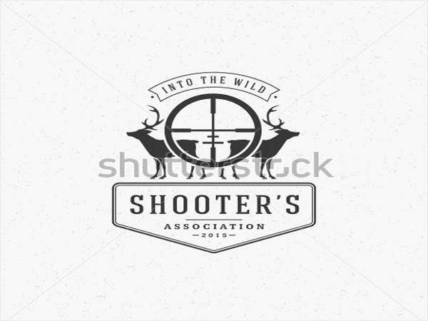 hunting-club-logo-template