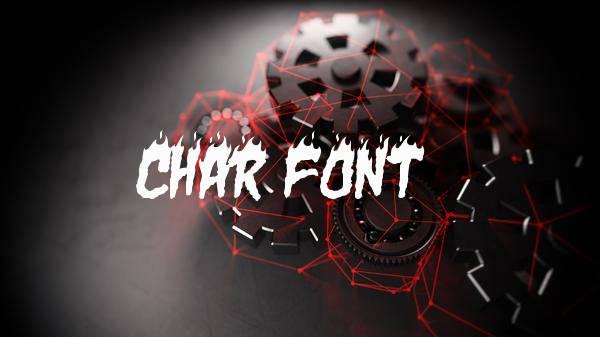 Char Font