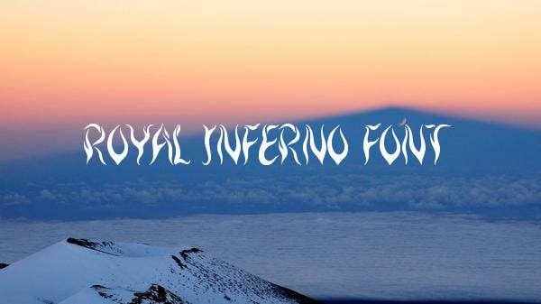 Royal Inferno Font