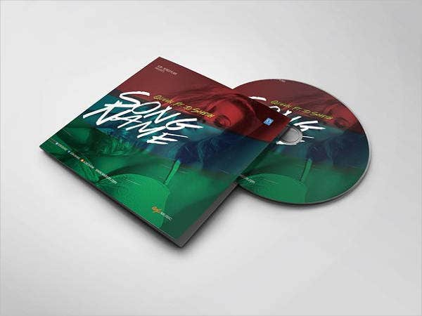DVD Album Cover Template