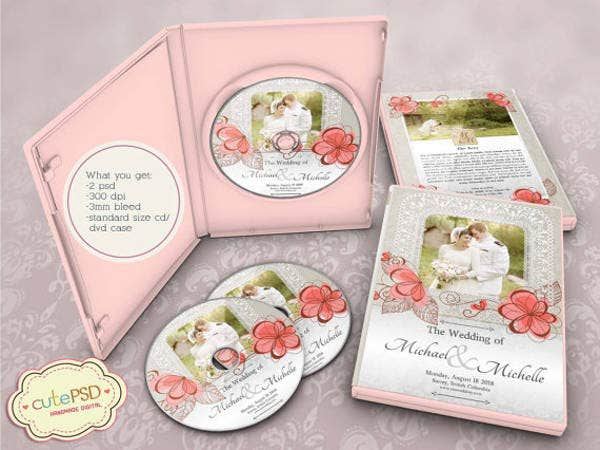 floral dvd case