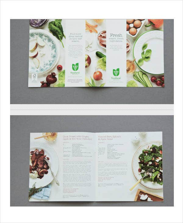spring recipe book template
