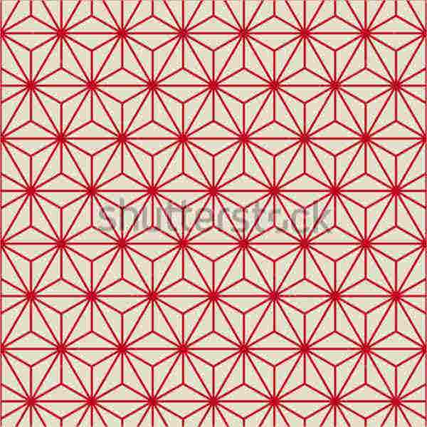 Retro Vintage Star Pattern