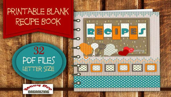 photo about Printable Cookbook referred to as 21+ Cookbook Templates - Free of charge PSD, AI, Vector, EPS Structure