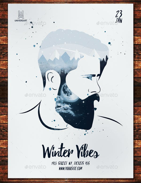 Winter Vibes Poster