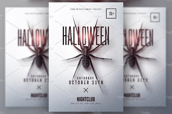 Halloween Minimalist Poster