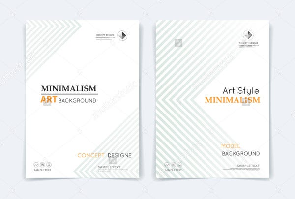 abstract composition poster template