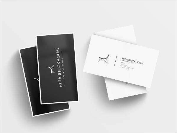Free Clean Business Card Mockups