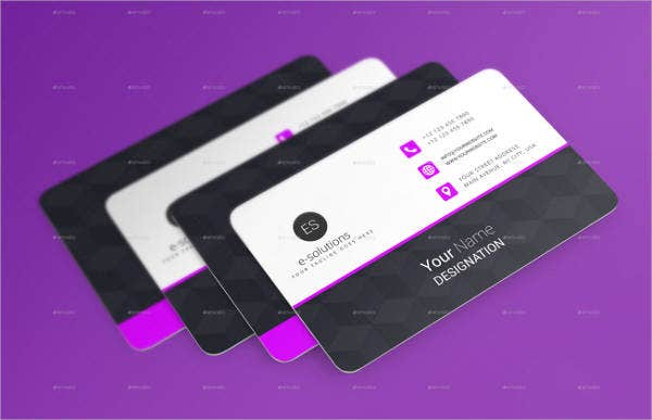Membership Business Card Mockups