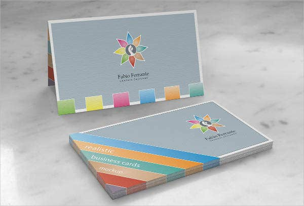 Photoshop Business Cards Mockup