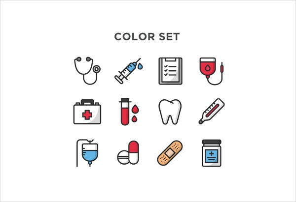 Free Colorful Medical Icons