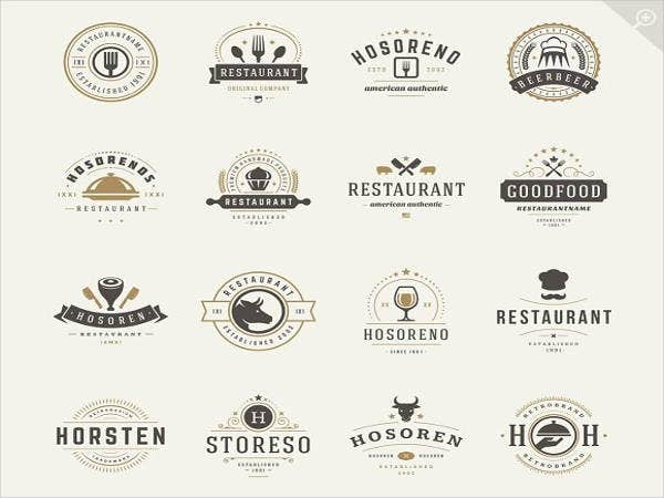 Restaurant and Food Logos