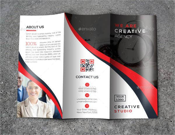 Agency Trifold Brochure