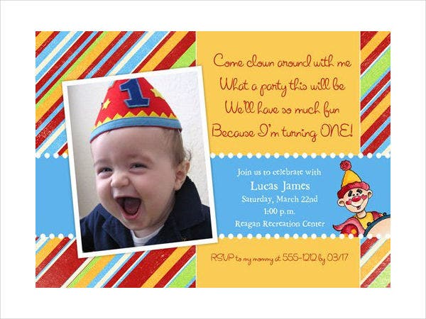 Free Printable Birthday Invitation Design