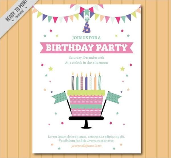 free birthday invites