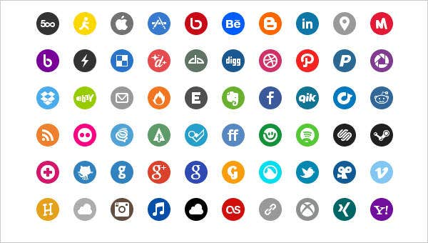 Basic Social Icon Set
