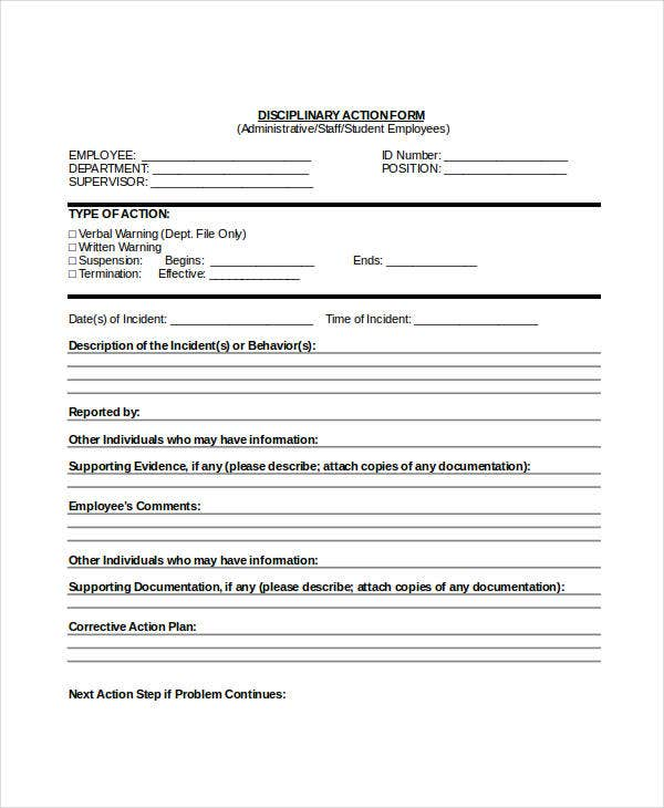 Write Up Forms For Employees Pdf Suyhi Margarethaydon Com