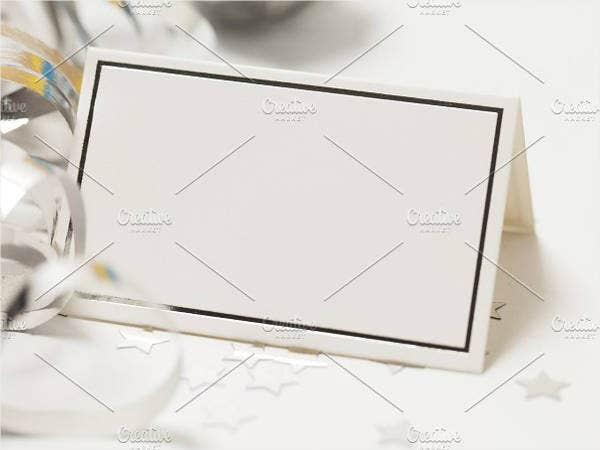 simple blank invitation