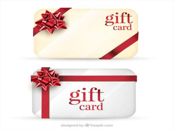 free gift cards pack
