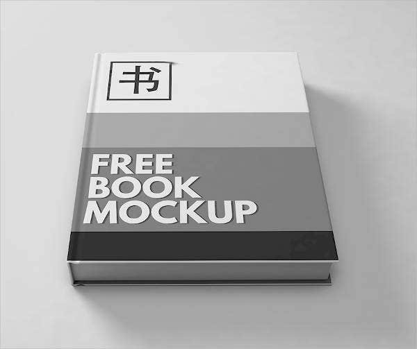 Free Book Cover Mockup
