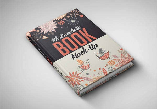 photorealistic book mock up