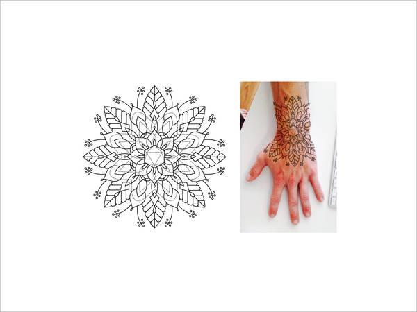 Design Mandala Tattoo